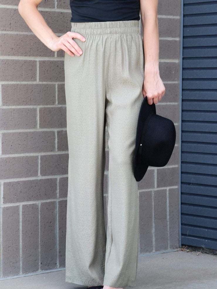 Gentle Fawn Side Slit Soft Pants
