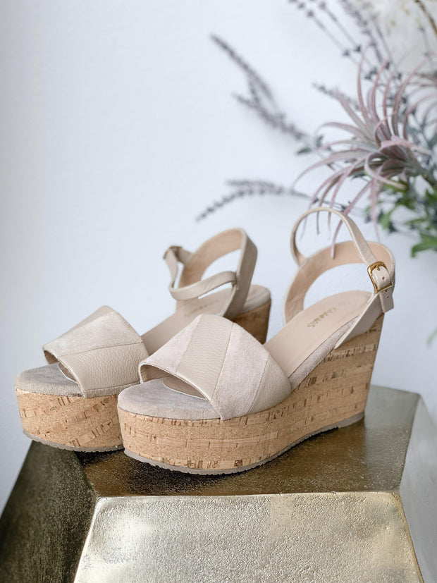Kaanas Strappy Wedge