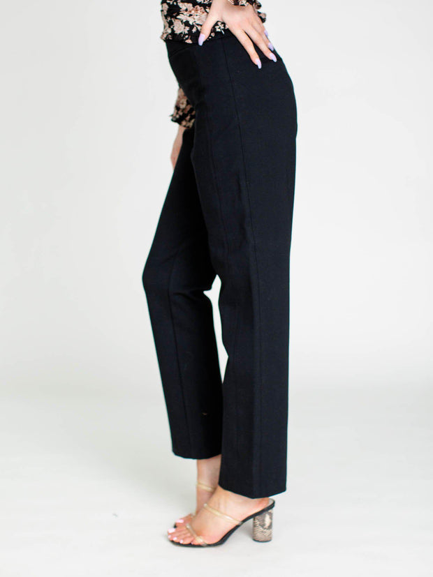 pull on straight leg pants