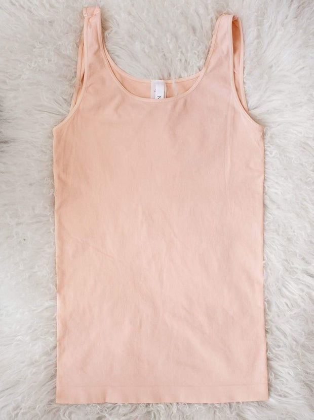 Wide Strap Slim Fitting Tank Top