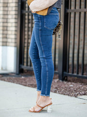 Free People Basic Fray Hem JEgging