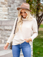 Textured Two tone sweater