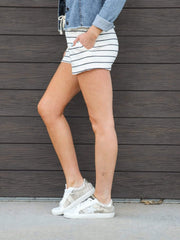 Thread & Supply Soft Stripe Shorts