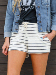 Stripe Soft Shorts