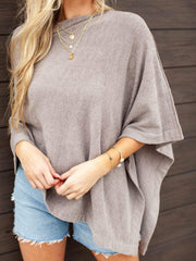 Barefoot Dreams Slouchy Neck Poncho