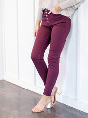 skinny colored pants
