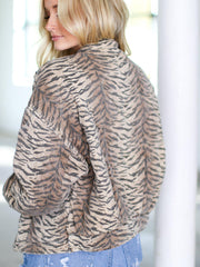 Blank NYC Animal Print JAcket