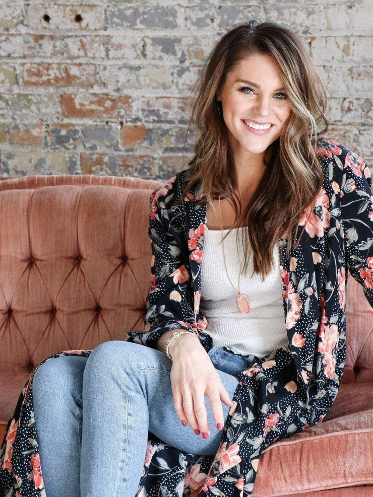 Saltwater Luxe Floral Cardigan
