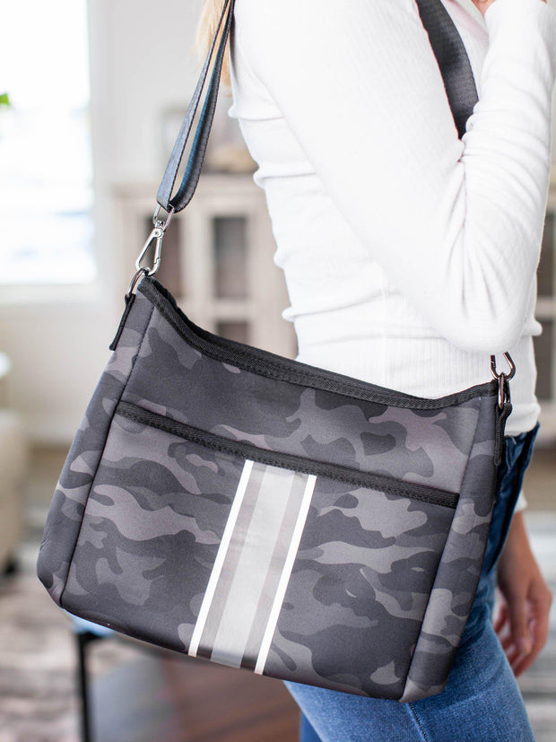 camo crossbody purse