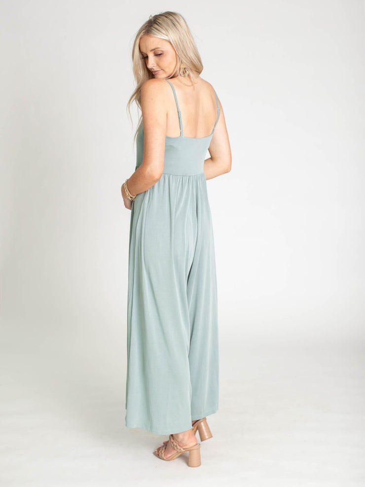 thin strap jumpsuit