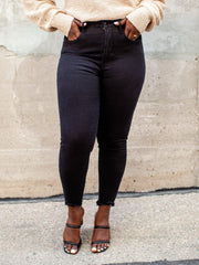 High Waist Black Good American