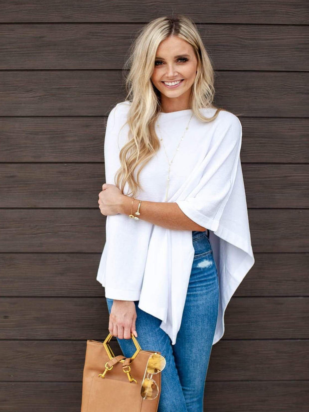 Barefoot Dreams Wide Neck Poncho