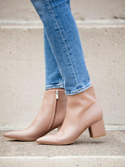 Marc Fisher Taupe Booties