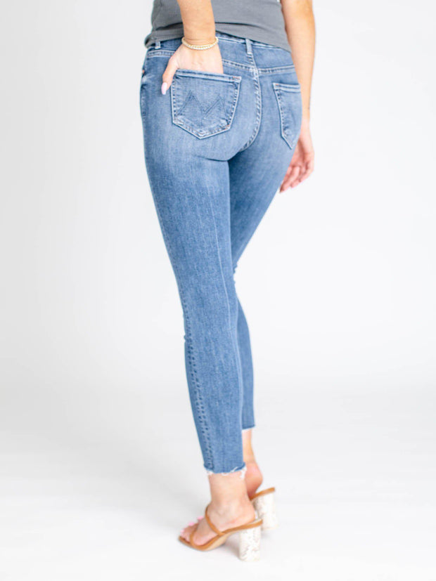 ankle mother denim