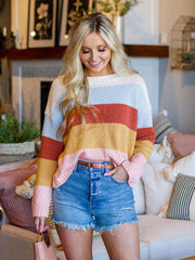 Billabong Thick Colorblock Stripe Sweater