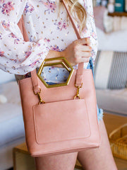 Mini Tote Crossbody Bag