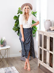 billabong wrap skirt