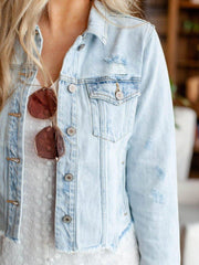 KanCan Distressed JAcket