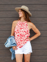 Gentle Fawn Smocked High Neck Tank