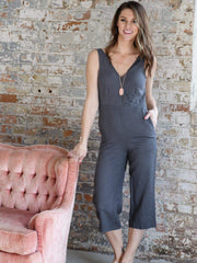 Gentle fawn Cropped Tank Jumpsuit
