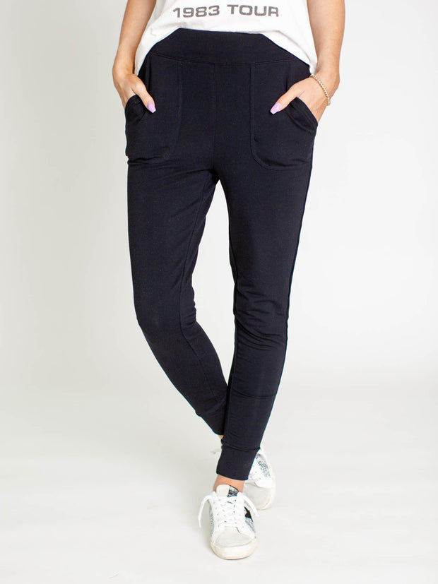 thread & supply black pants