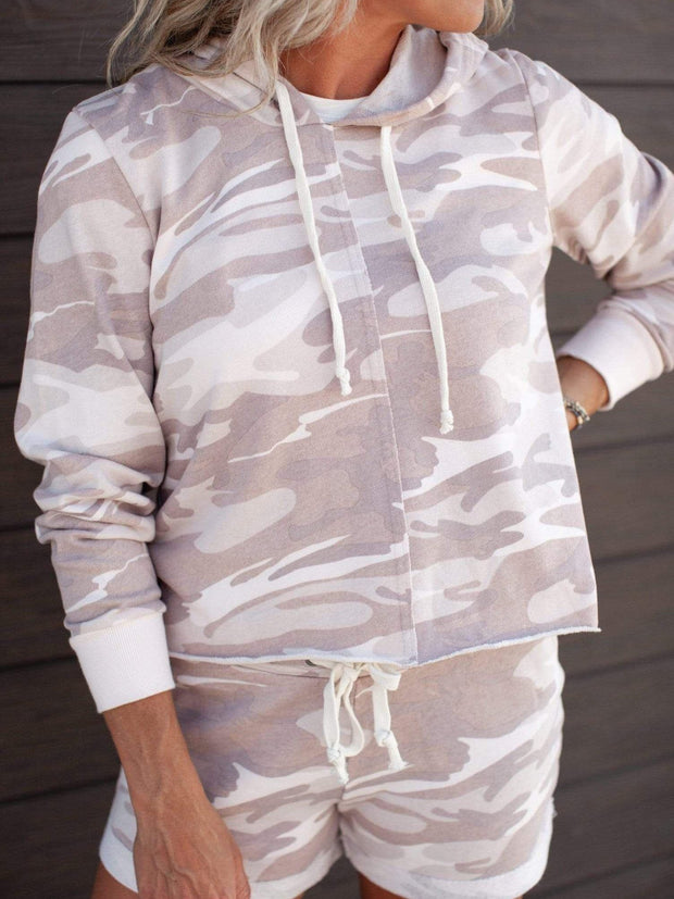 Alternative Apparel Camo Print Hoodie