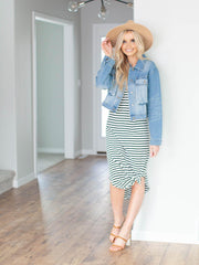 z supply stripe dress