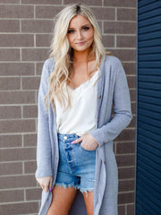 Button Front Duster Cardigan
