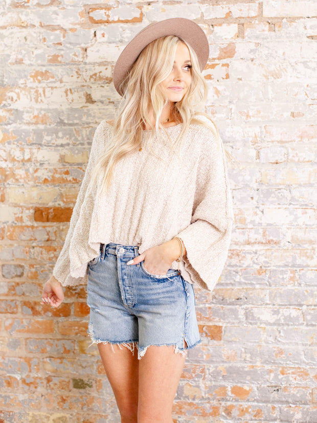 distressed hem shorts