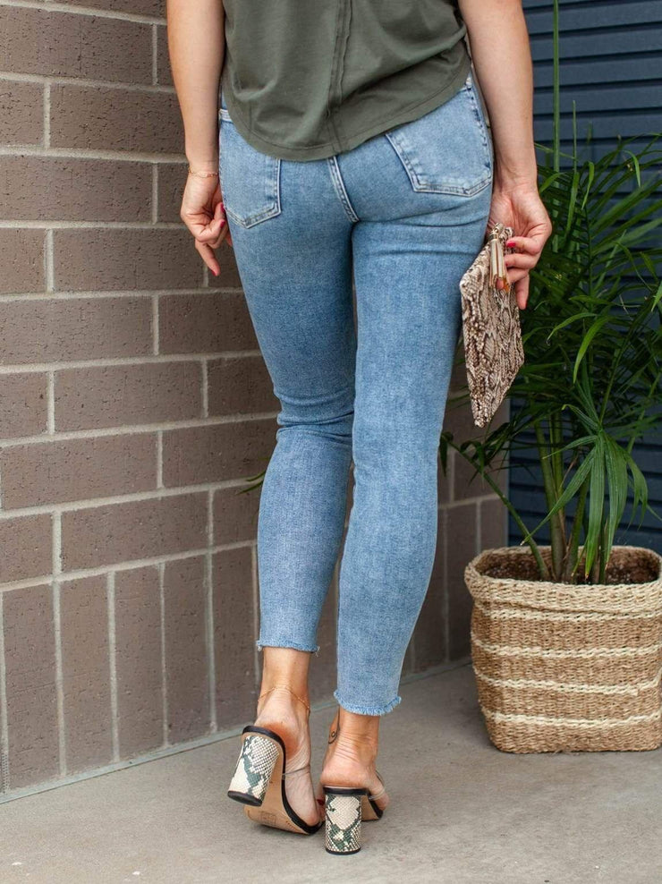 Free People Vintage High rise Jegging
