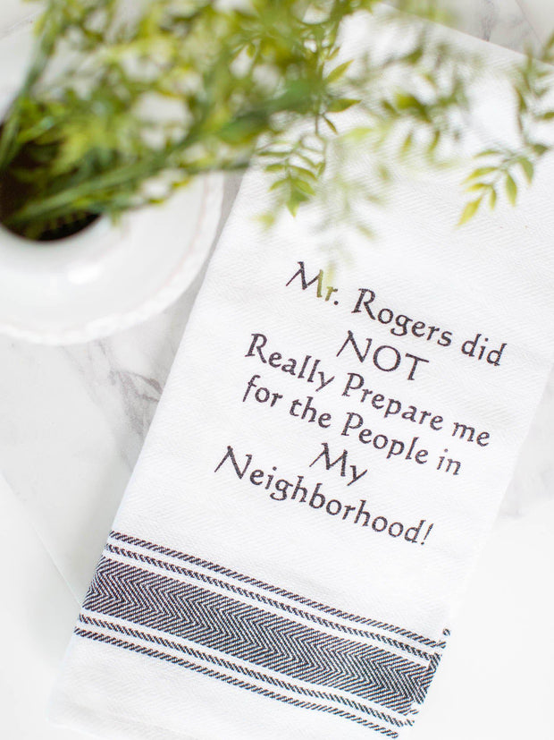 Mr. Rogers Dish Towel