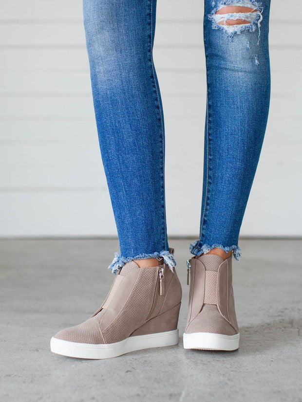 MIA Christie Sneaker Wedge