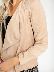 bb Dakota faux suede cover up