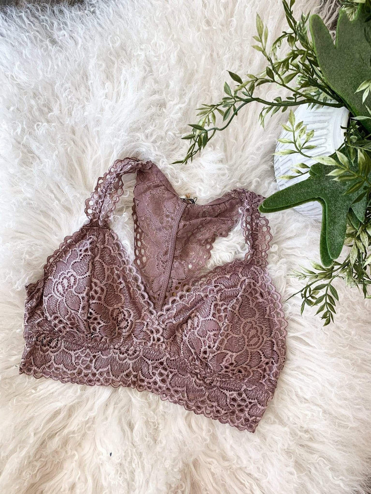 Padded Lace Bralette