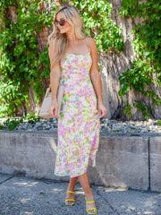 ASTR Tie Dye Midi Dress