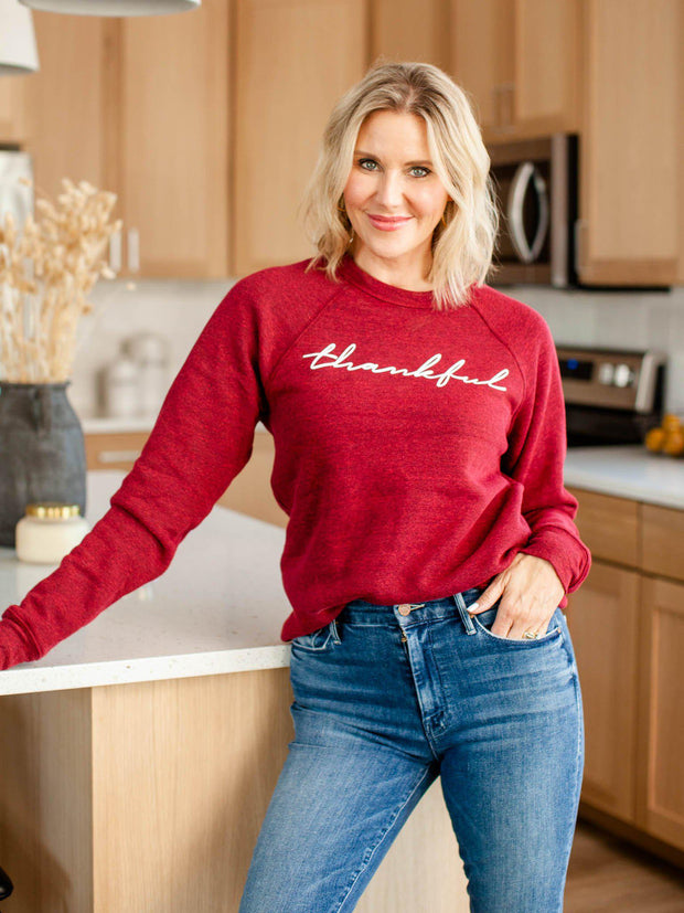 thankful blended sweatshirt