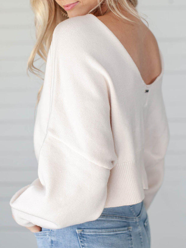 Billabong Relaxed Fit Cropped Sweater