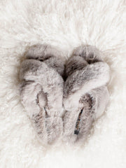 dolce vita faux fur slippers