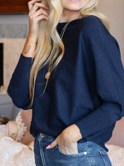 Basic Dolman Sweater Top