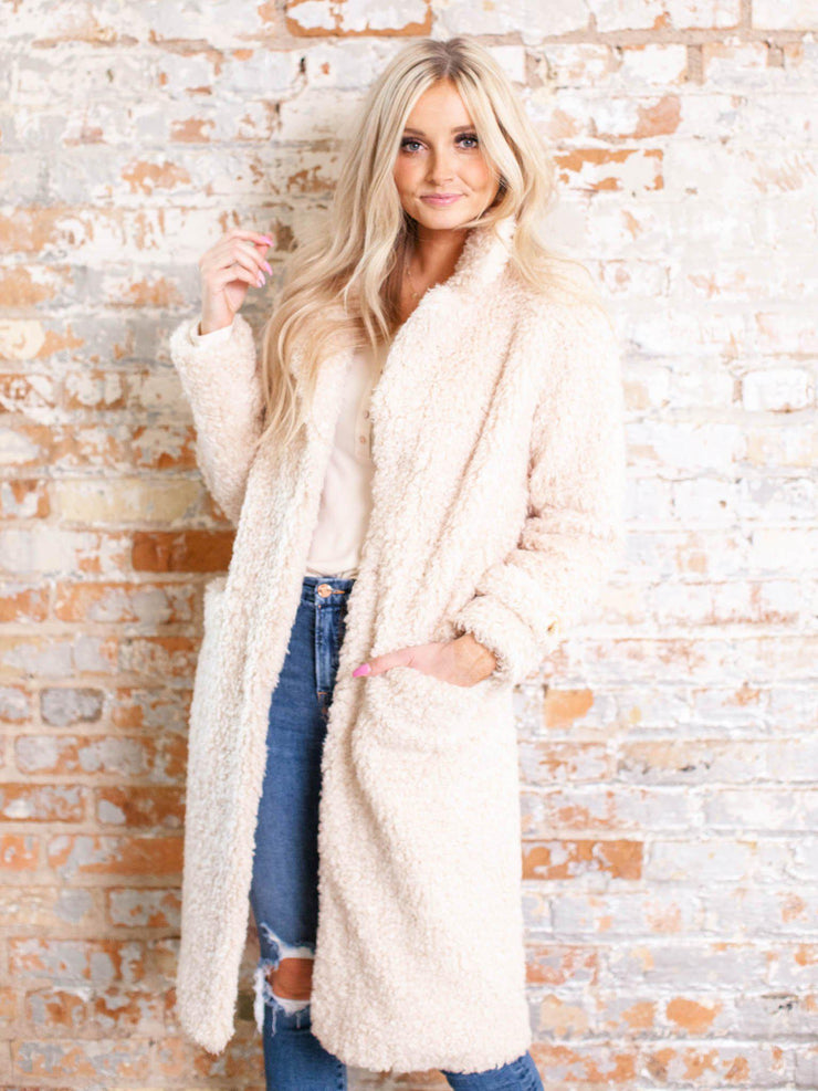 heartloom faux fur coat