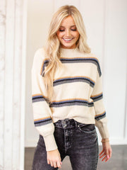 saltwater luxe stripe sweater