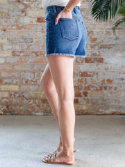 Joe's Jeans Fray Edge Denim Shorts
