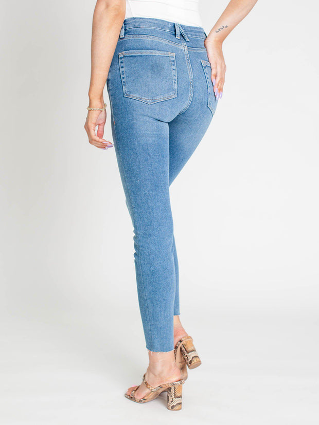 good American high waist denim