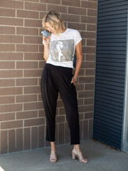 Gentle Fawn Tapered Leg Modal Pant