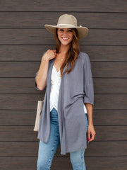 Gentle Fawn Drape Front Cardigan