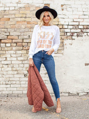 KISS Leopard Graphic Tee