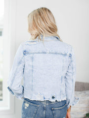 distressed kancan jacket