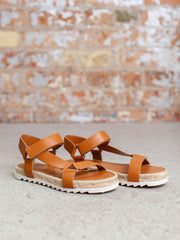 athletic strappy sandal