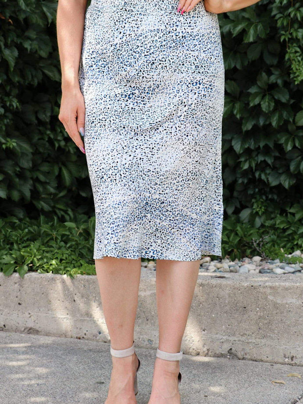 Knee length Printed Skirt