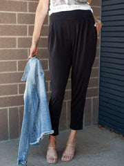 Gentle Fawn High Rise Tapered Leg Pant